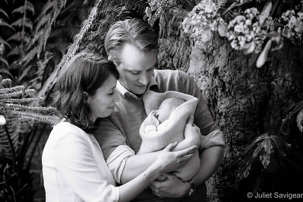 Family Photography With Newborn Baby
