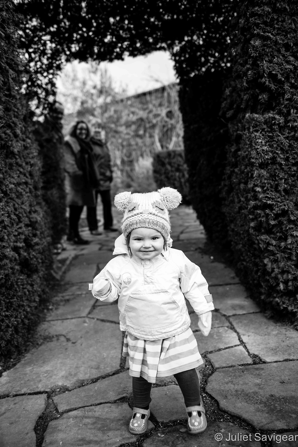 Through The Arch - Children's Photography, Brockwell Park