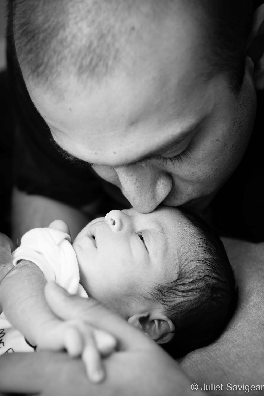 Kiss - Newborn Baby Photography, Clapham