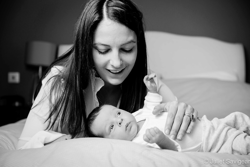 Mother & baby At Home