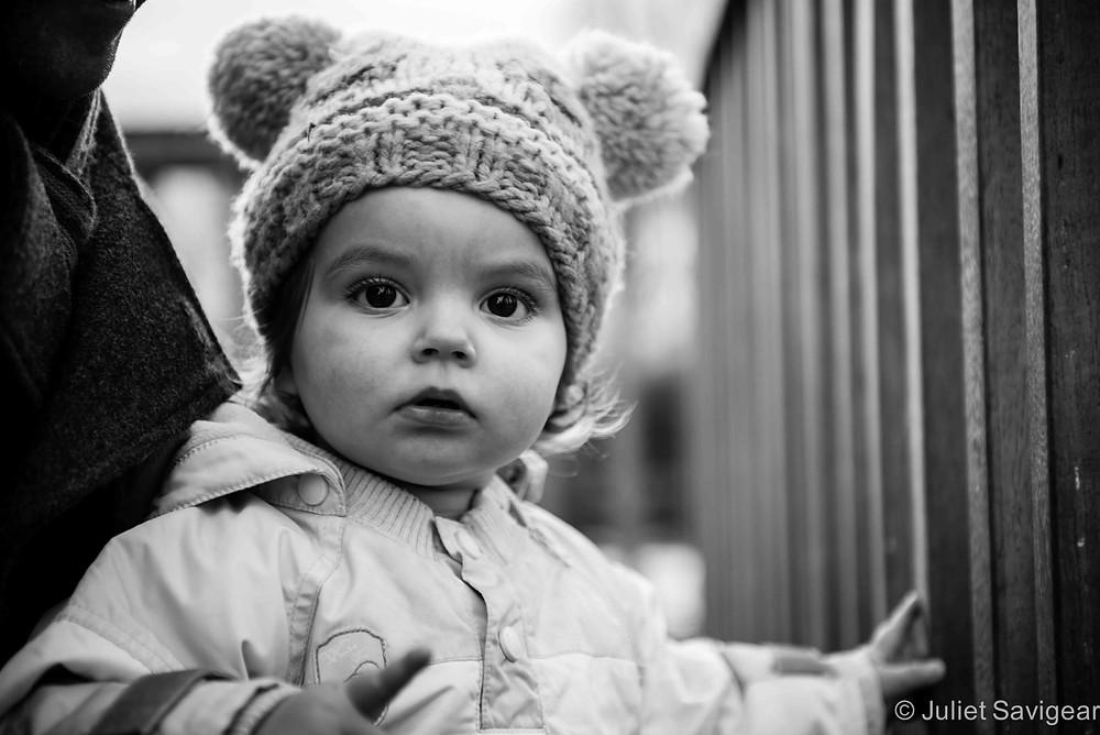 Feeding The Ducks - Children's Photography, Brockwell Park
