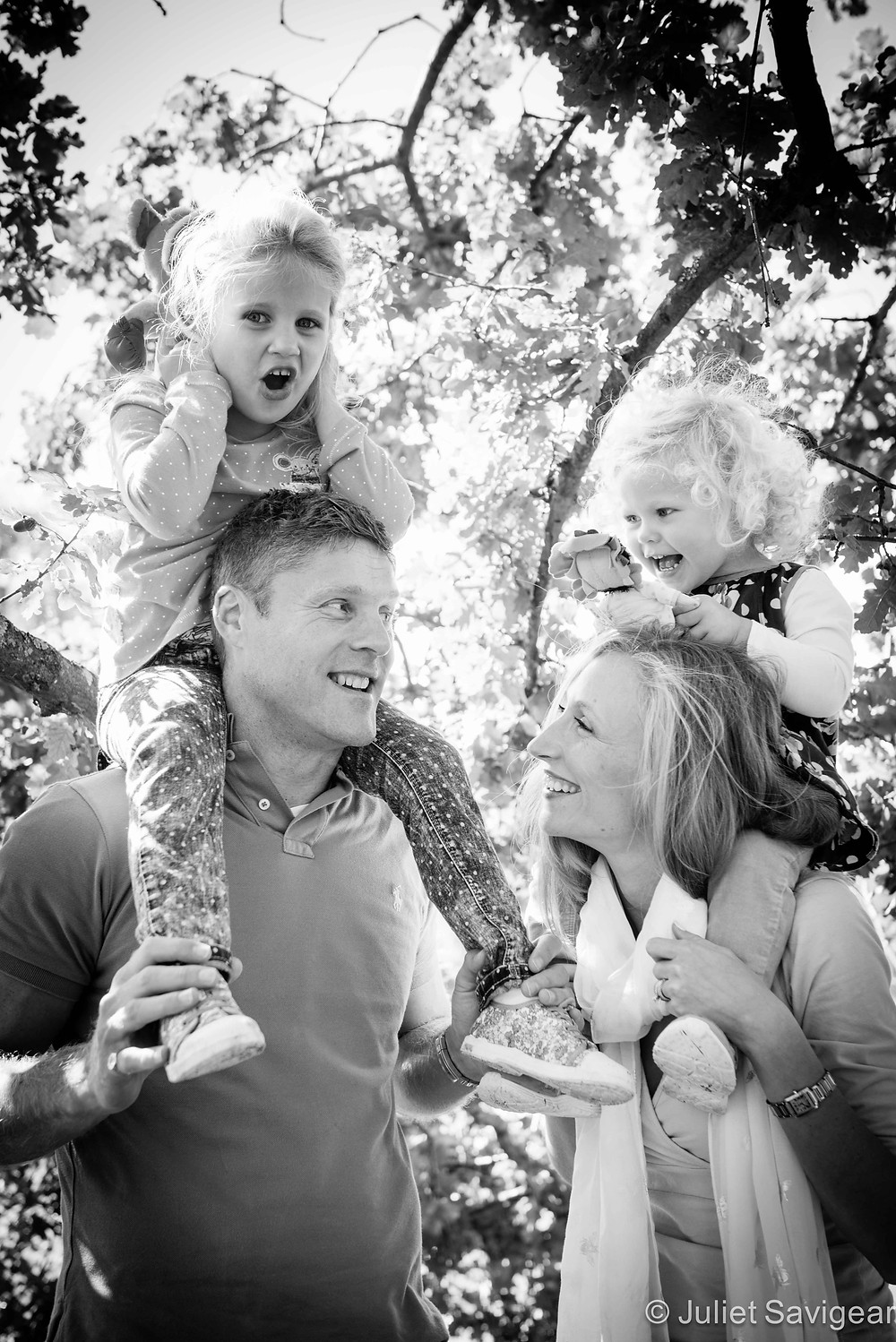 Family Group - Children's & Family Photography, Surrey
