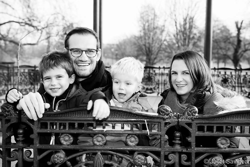 Family Portrait Photography - Clapham Common
