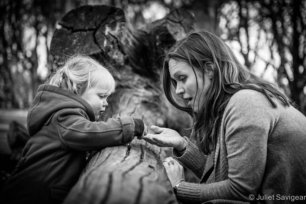 Sharing - Children's & Family Photography, Hampstead Heath