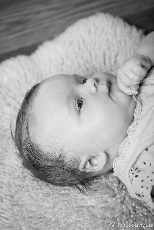 Thinking Pose - Baby Photography, Wimbledon