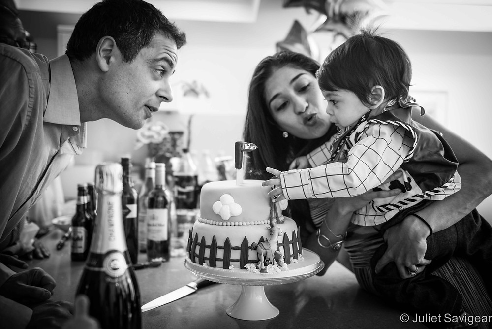 First Birthday - Children's & Family Photographer