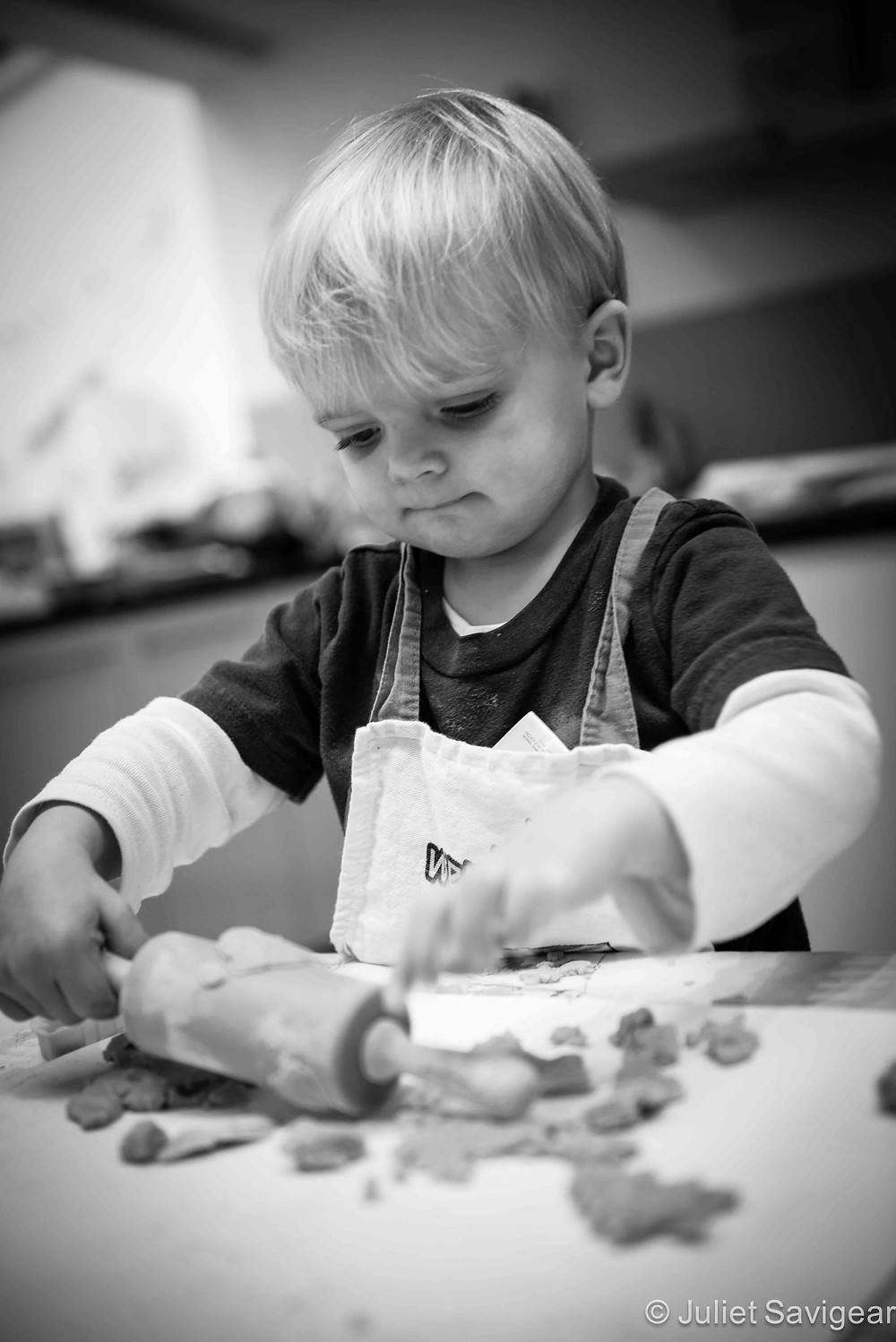 The Little Chef - Children's Photography, Balham