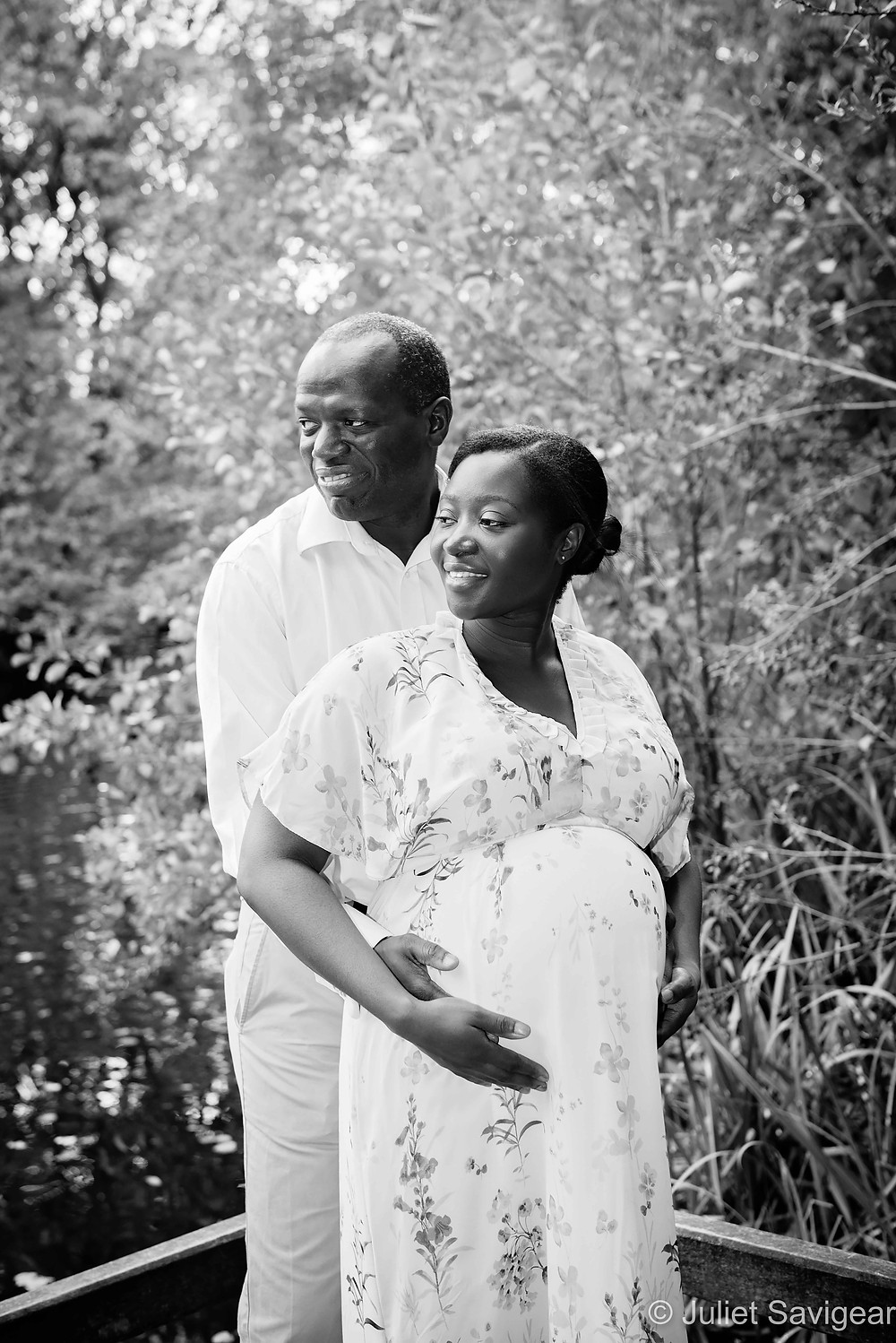 Natural pregnancy photography