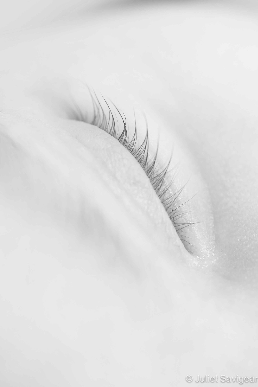 Eye Lashes - Newborn Baby Photography, Earlsfield