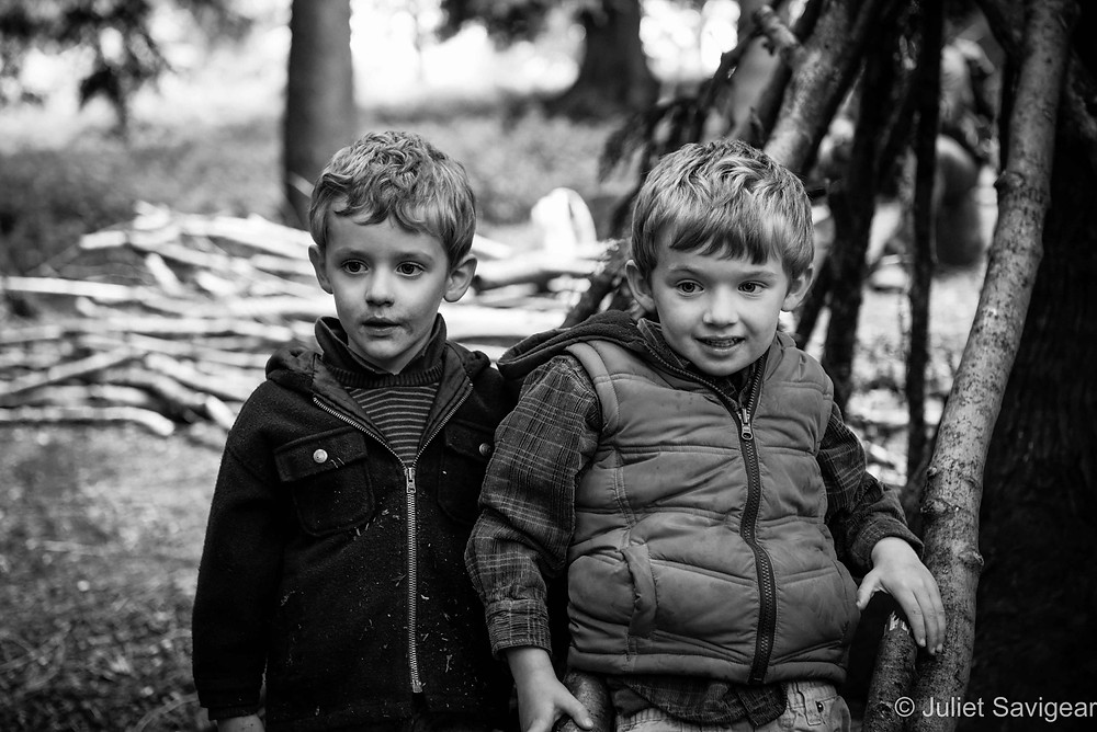 Twin Children's Photography, Oxfordshire