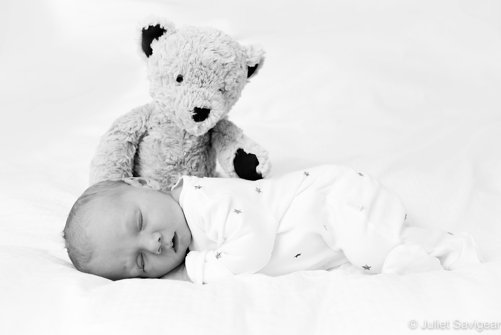 With Teddy - Newborn Baby Photographer, Clapham South