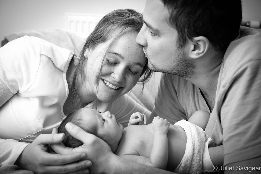 Family Portrait - Newborn Baby Photography, Balham