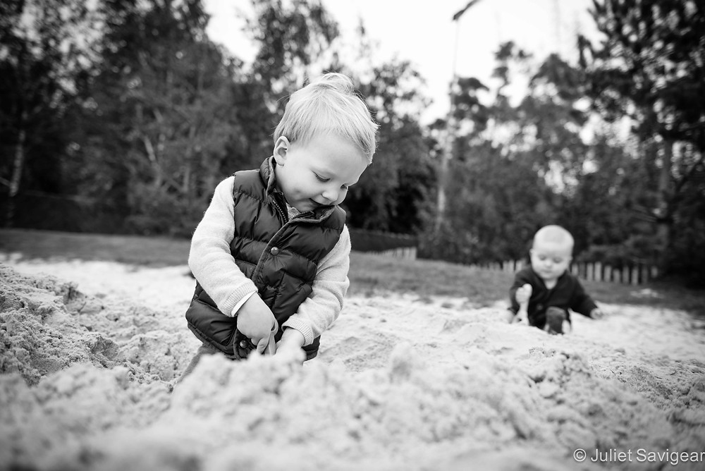 Sand Play - Children's Photography, Tooting Common
