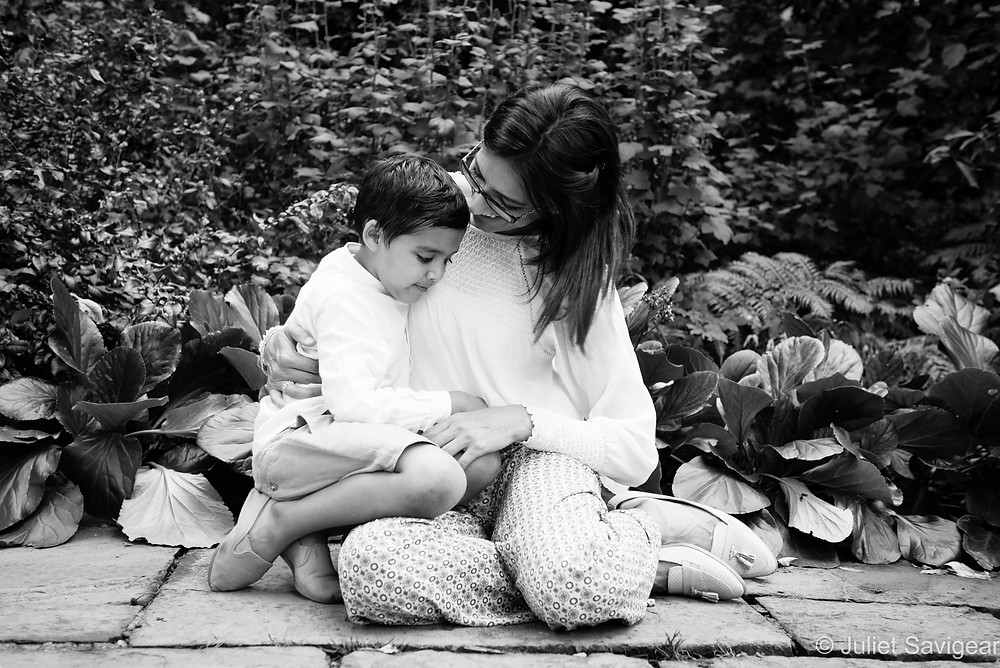 Cuddles With Mummy - Children's Photography, Victoria, London