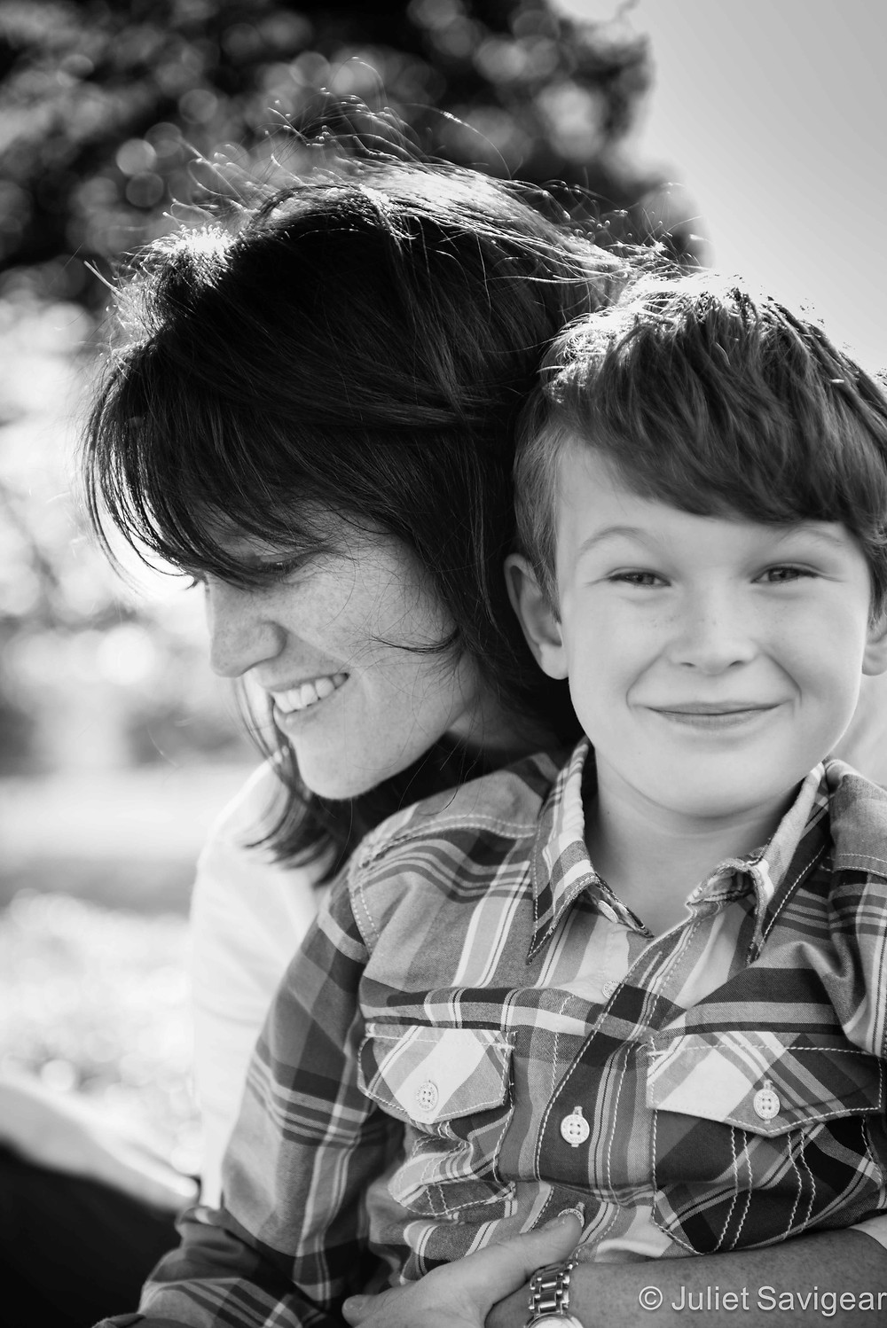 Mother & Son - Children's & Family Photography, Clapham Common