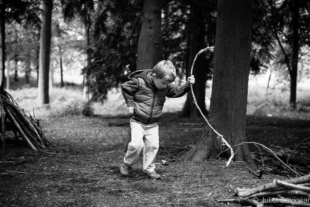 Stick - Twin Children's Photography, Oxfordshire