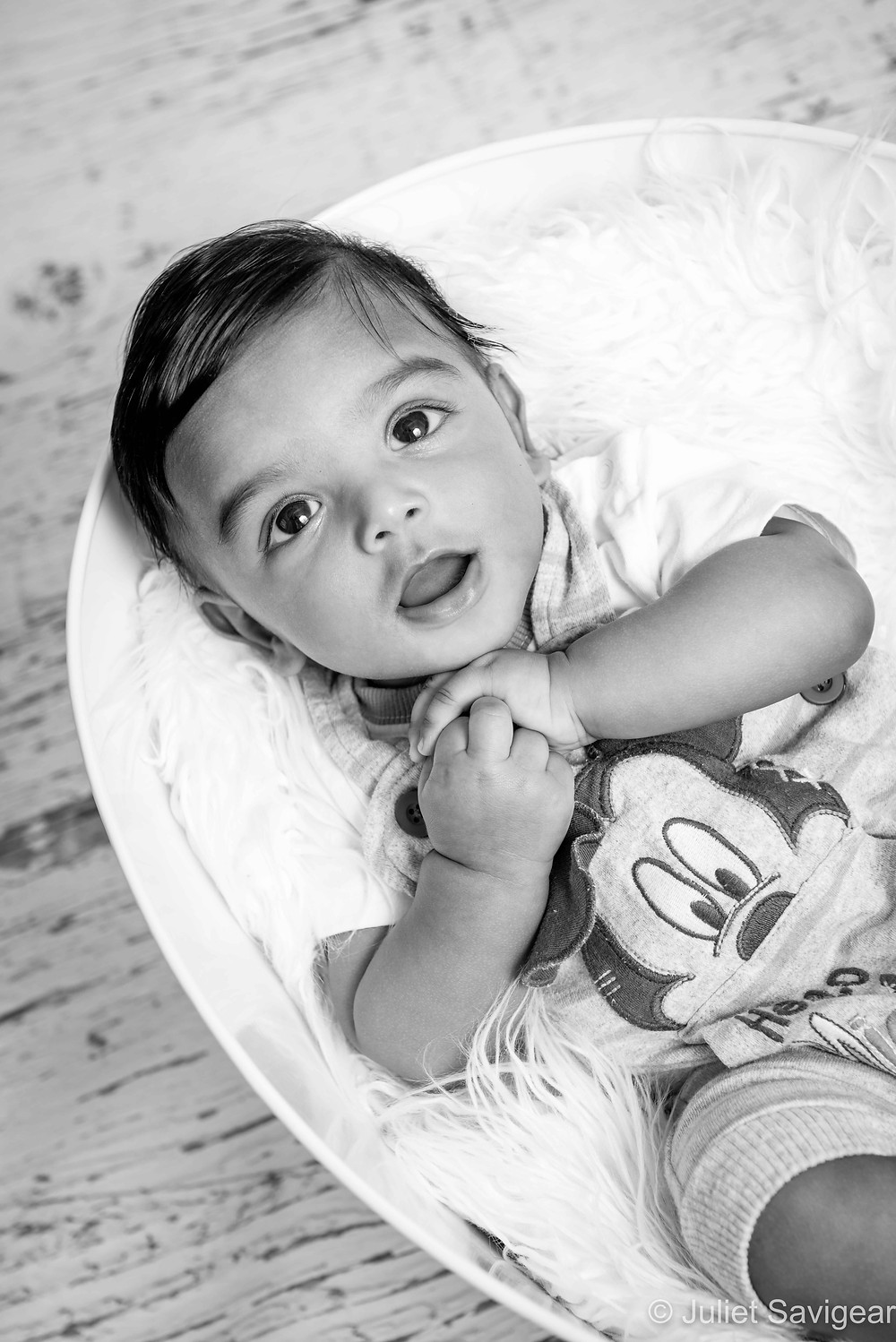 Cutie In A Tub - Baby Photography - Mitcham