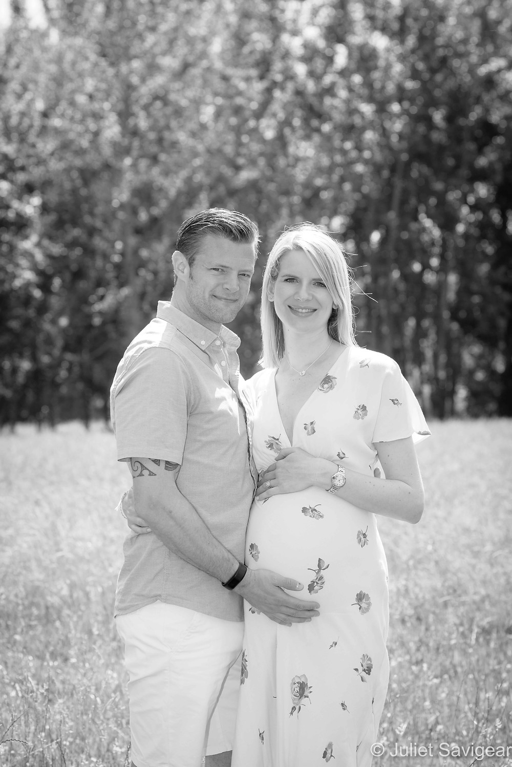 Summer maternity photography
