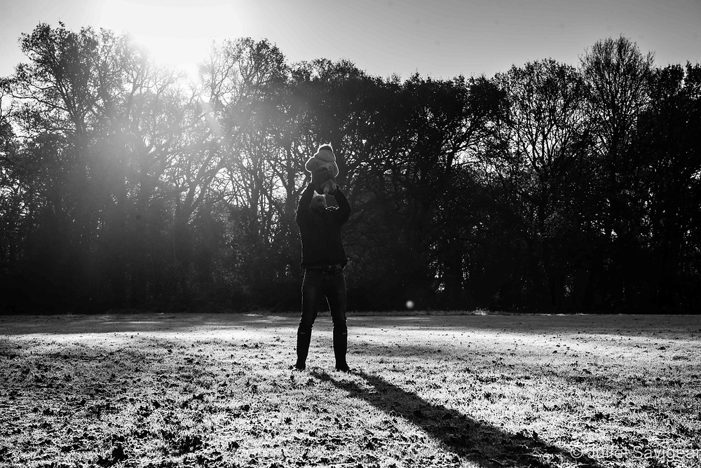 Father & Daughter - Family Photography, Tooting Common