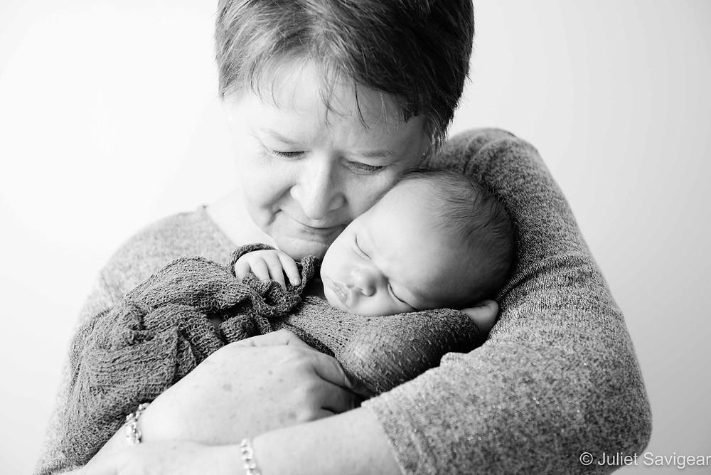 Cuddles from grandma