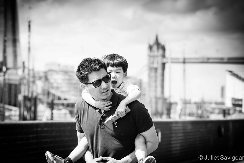 Piggyback - Family Photography, Wapping, London