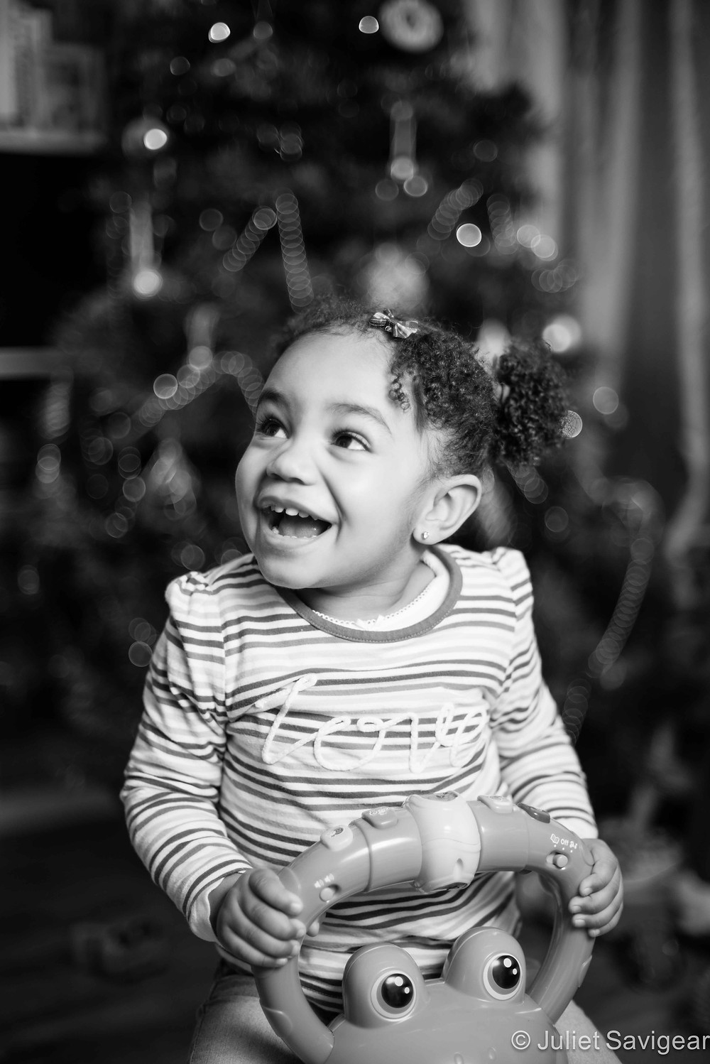 Happy Christmas - Christmas Boy - Children's Photography, Brixton