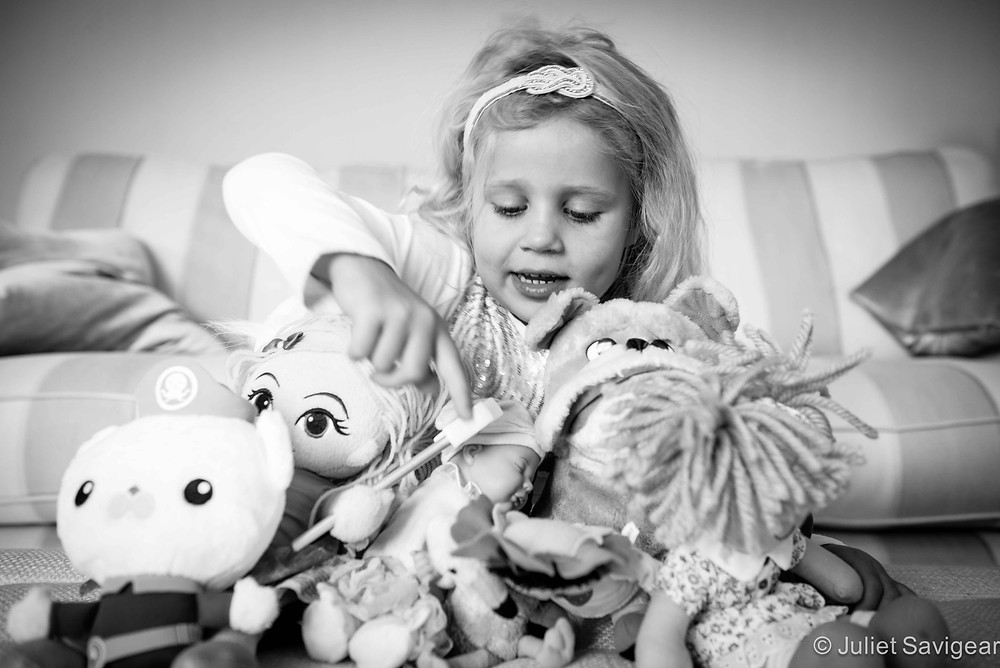 Pyramid Of Toys - Children's Photography, Surrey
