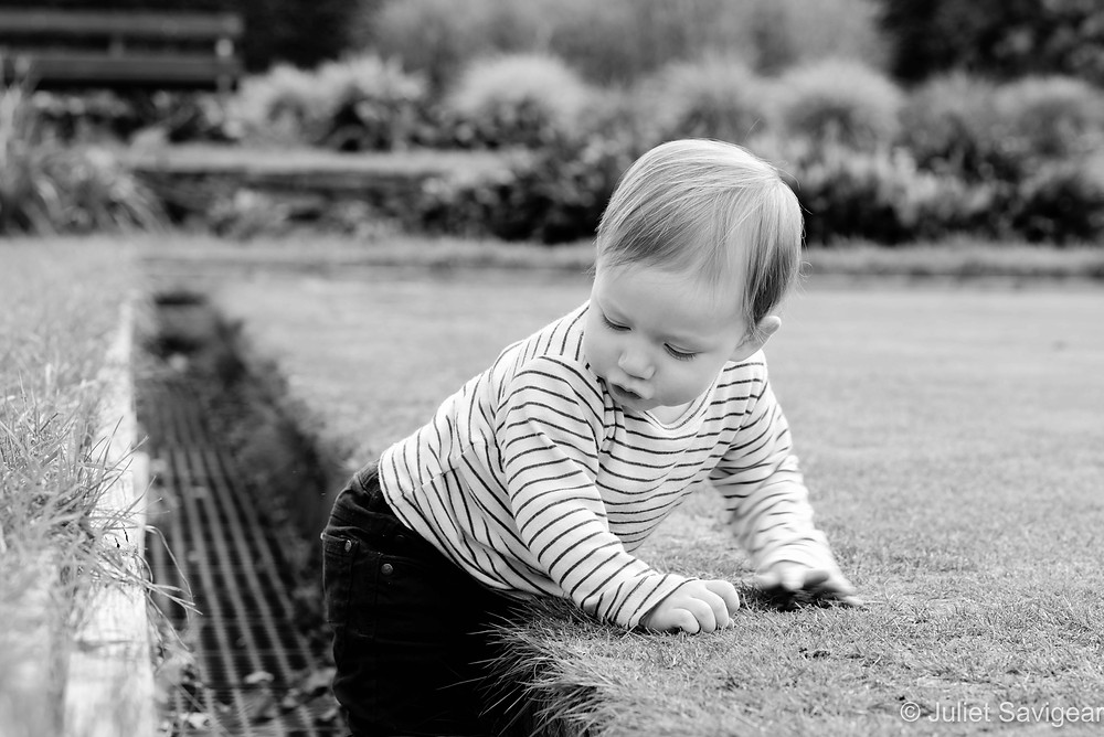Toddler photography on Wandsworth Common