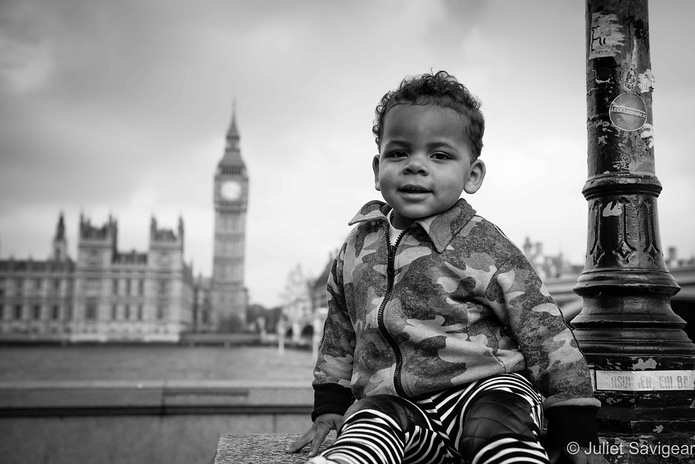View Over To Big Ben - Family Photographer, London