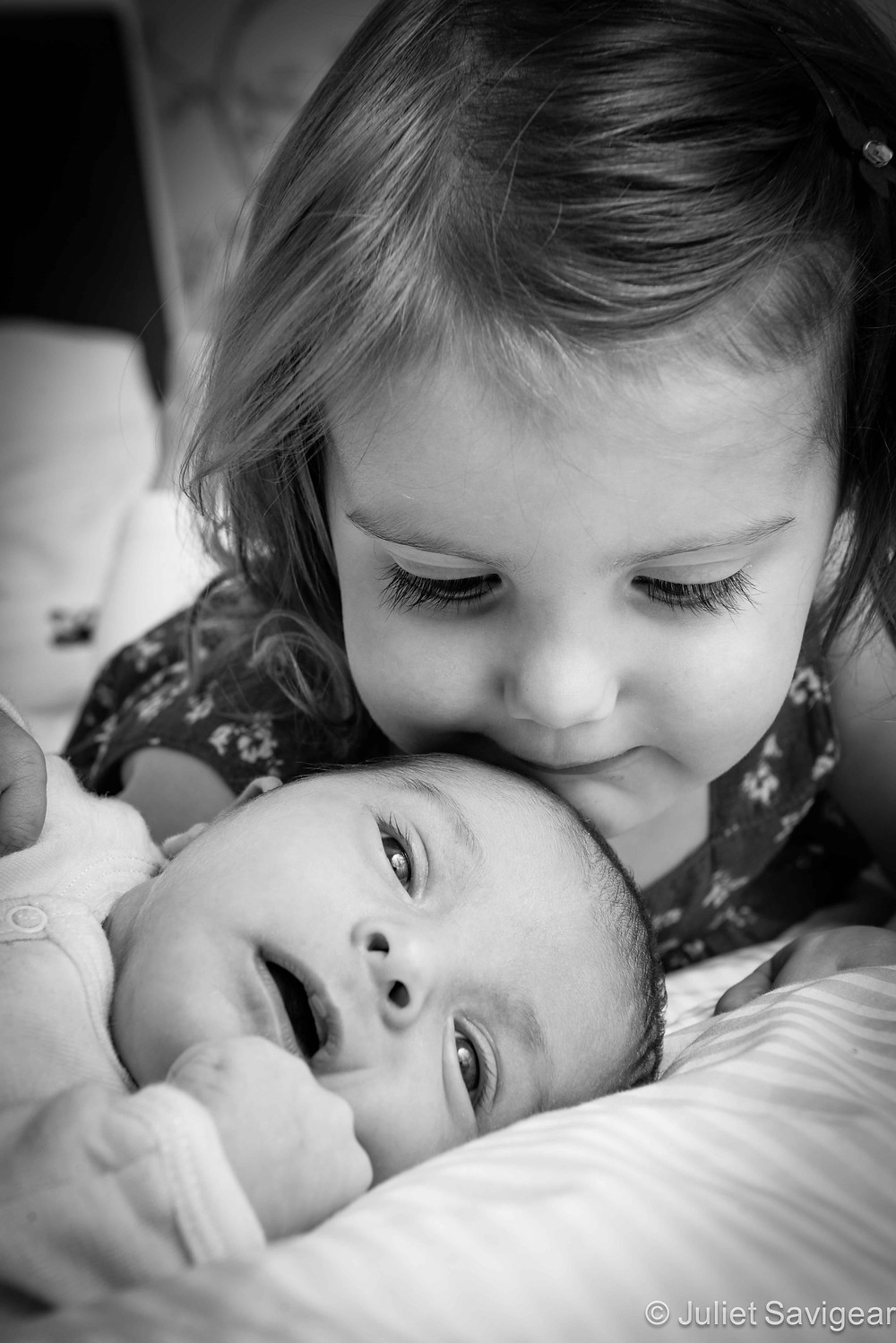 Brother & Sister - Newborn Baby & Family Photography, Earlsfield