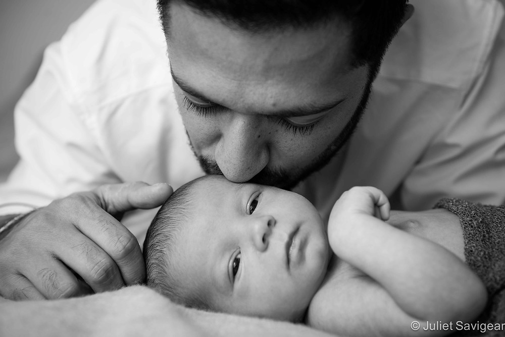 Kiss - Newborn Baby Photography, Ealing
