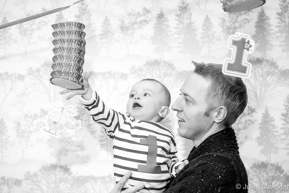 Baby grabbing decorations