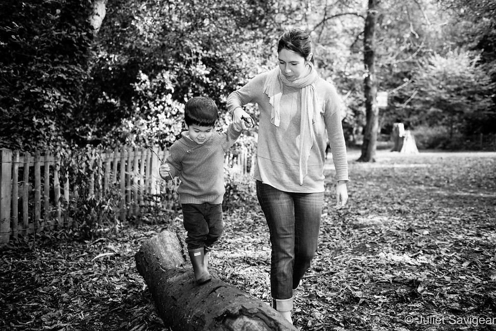 Balancing - Children's Photography, Holland Park