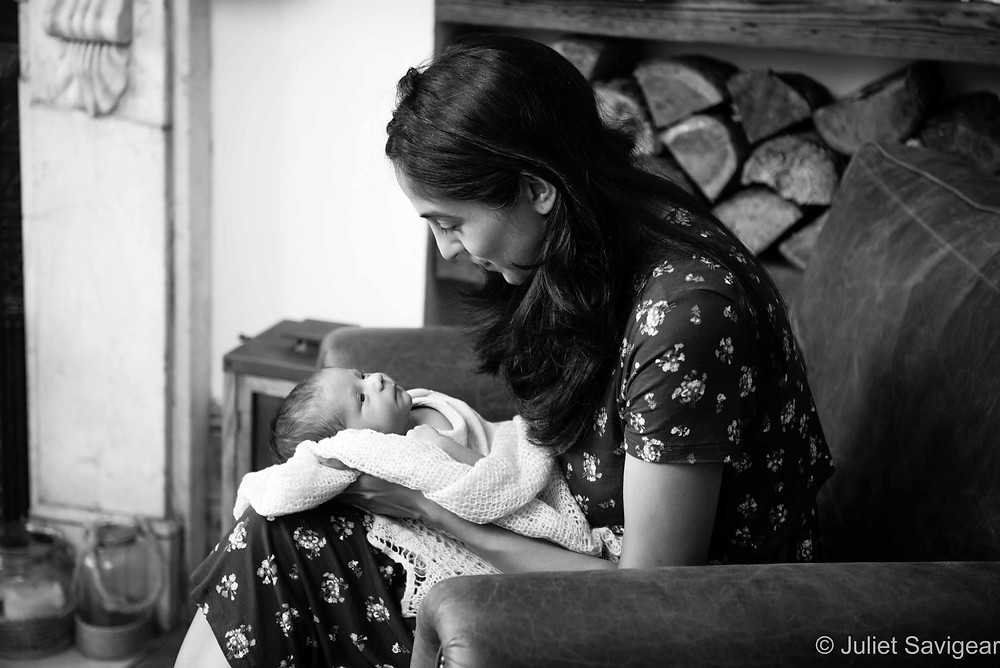 Mother & Baby - Newborn Baby & Family Photography - Balham