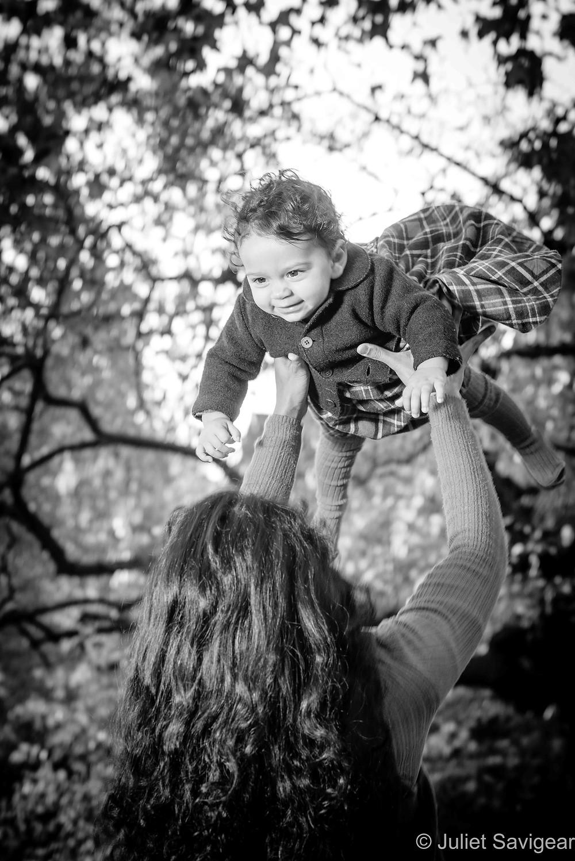 Baby flying high!