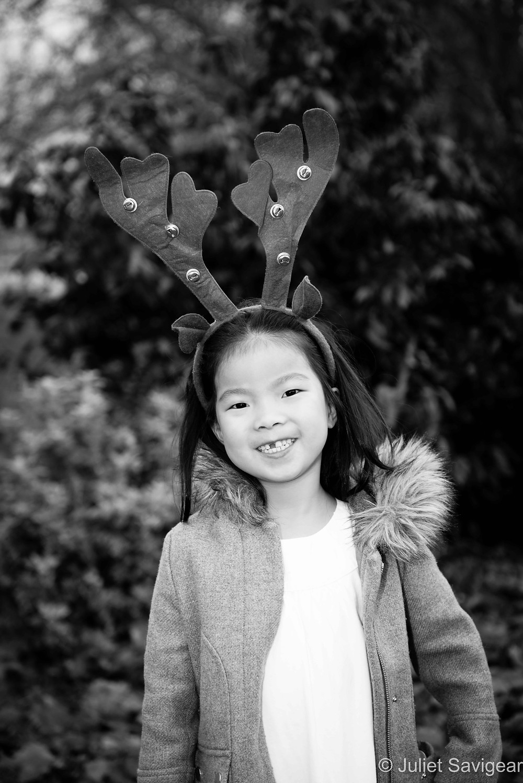 Reindeer - Children's Photography - Parsons Green