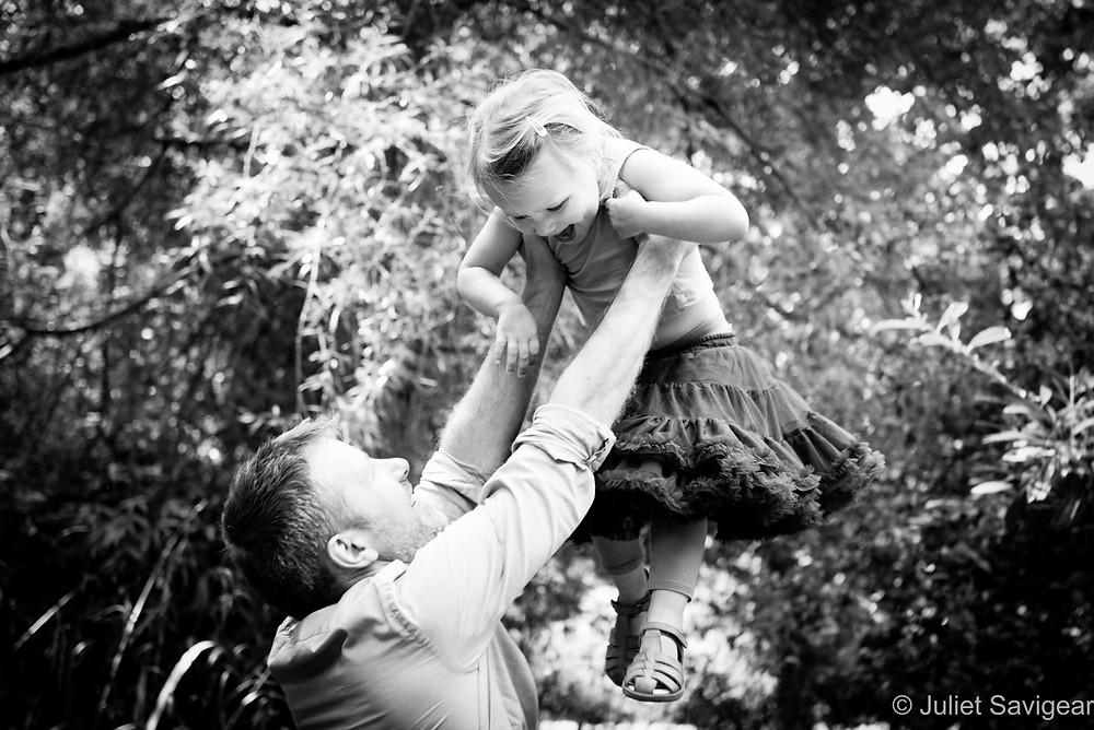 Flying High - Family Photography, Peckham Rye Park