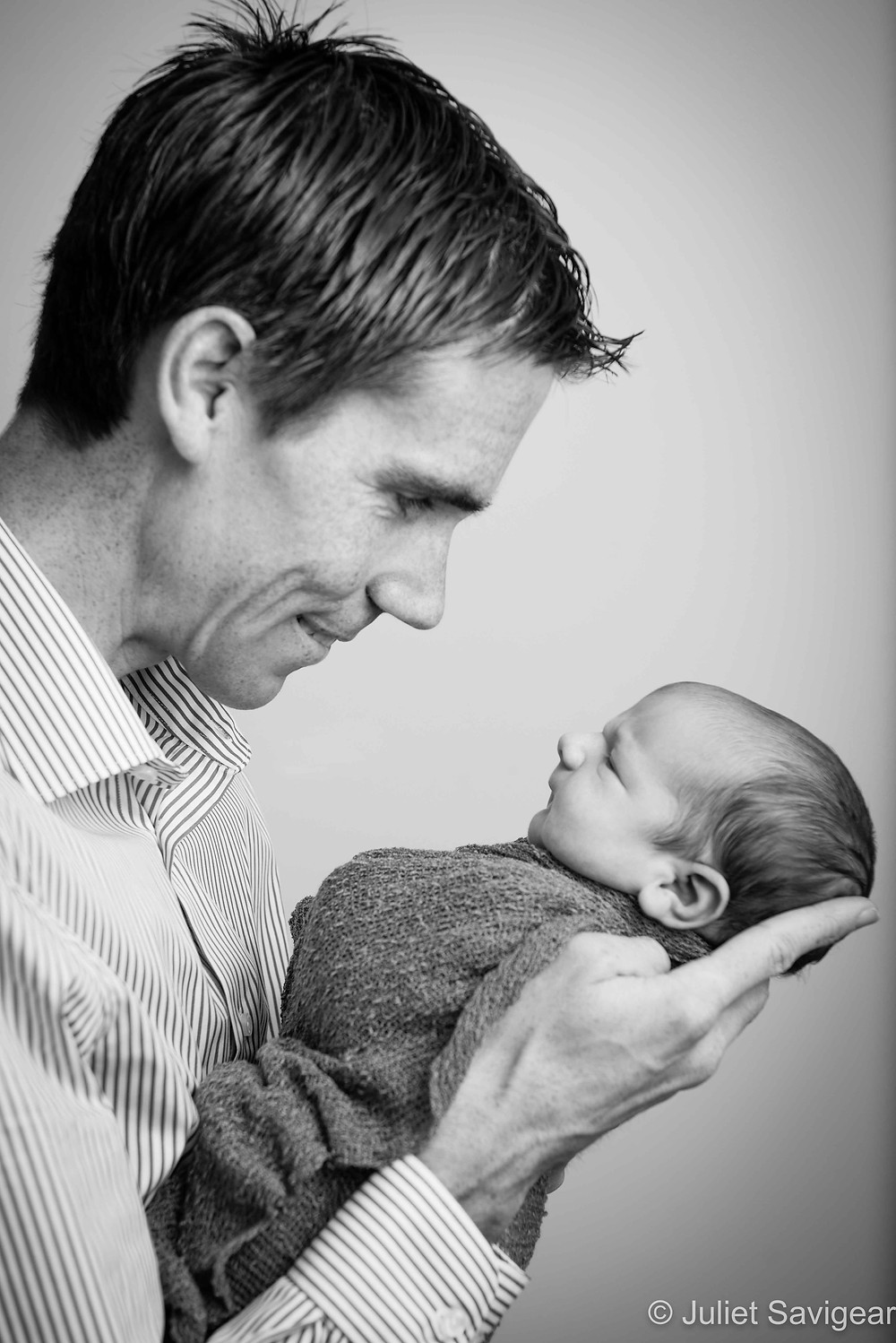 Father & Son - Newborn Baby Photography, Battersea