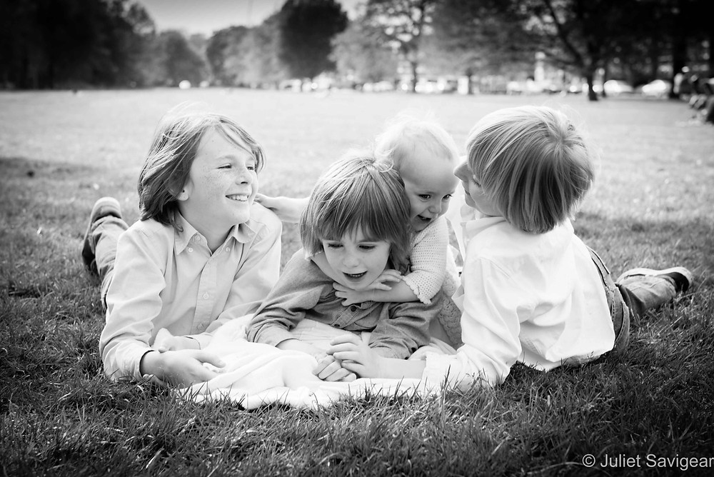 Tumble - Children's photography, Tooting Common