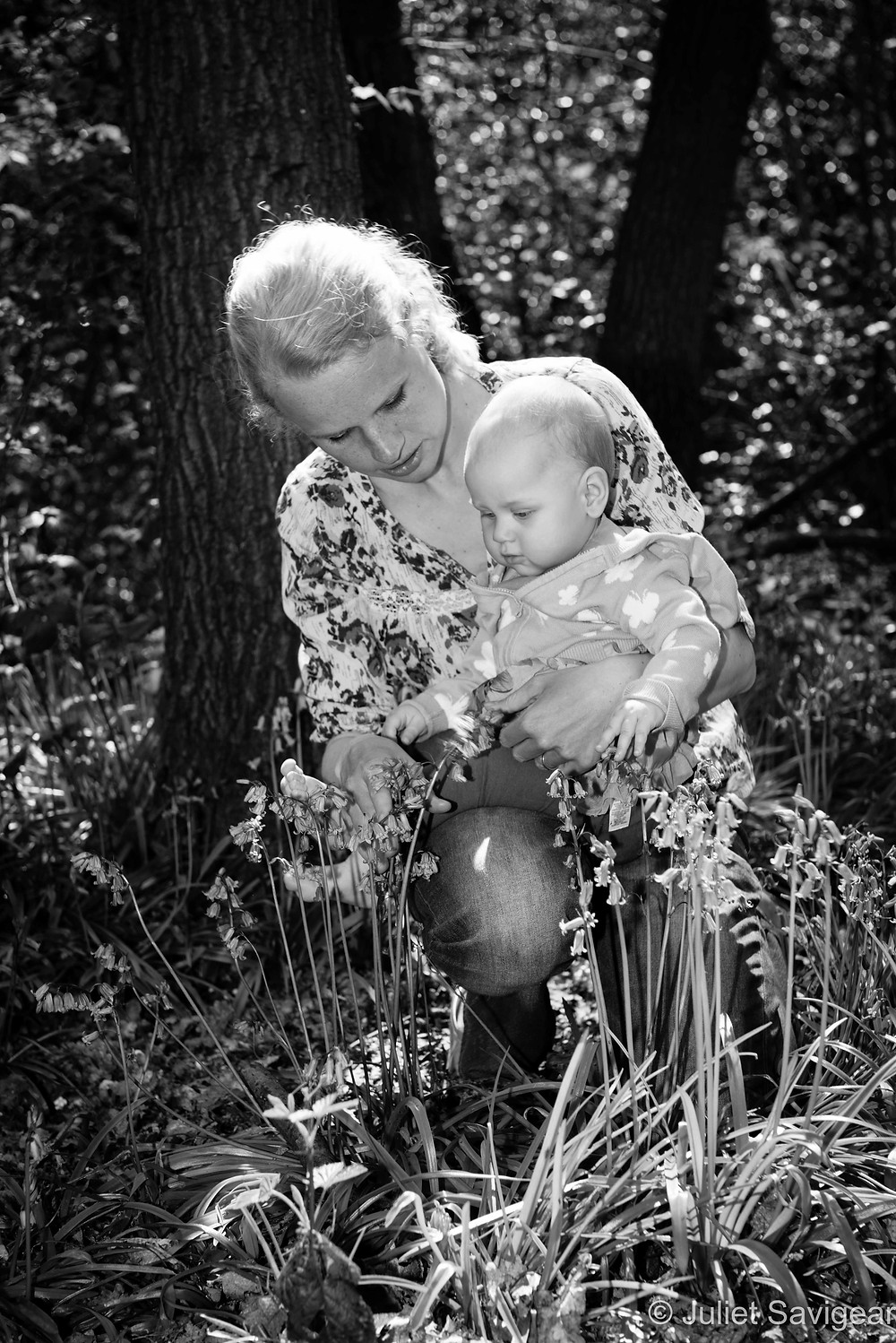 Bluebell Woods - Mother & Baby Photography - Orpington, Bromley