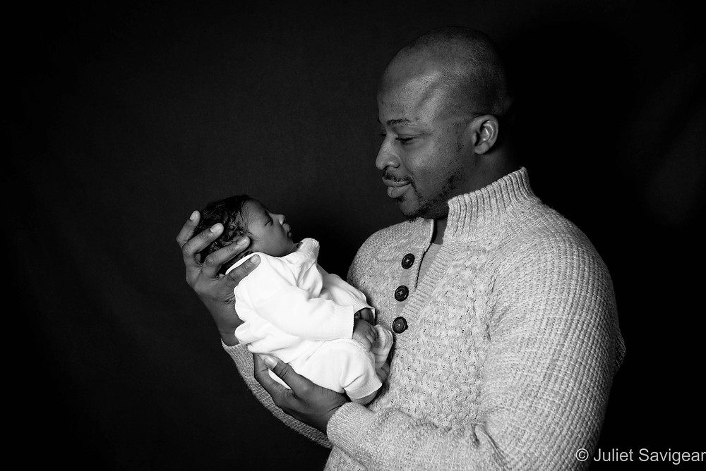 Father & baby son
