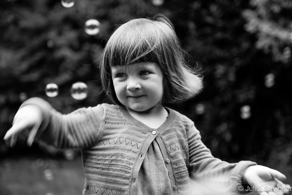 More Bubbles - Children's Photography, Wimbledon
