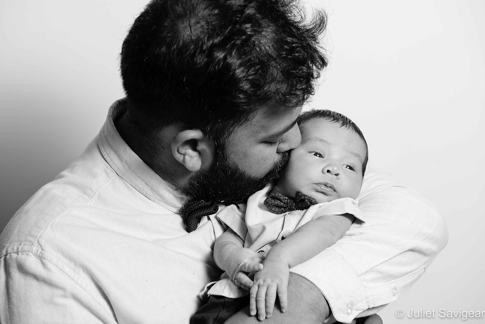 Daddy with baby boy