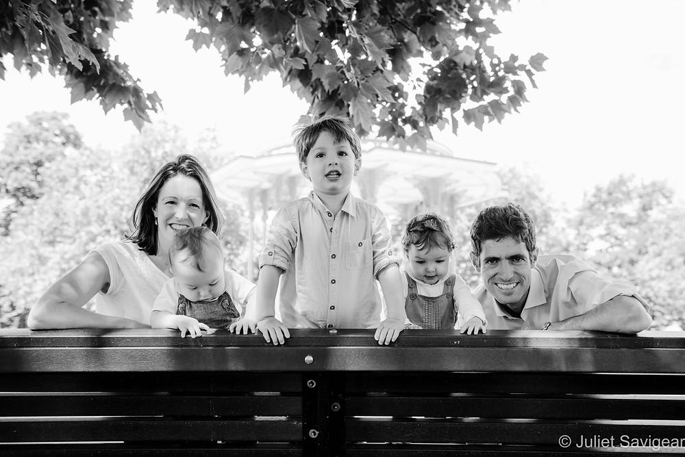 Family Portrait On Clapham Common