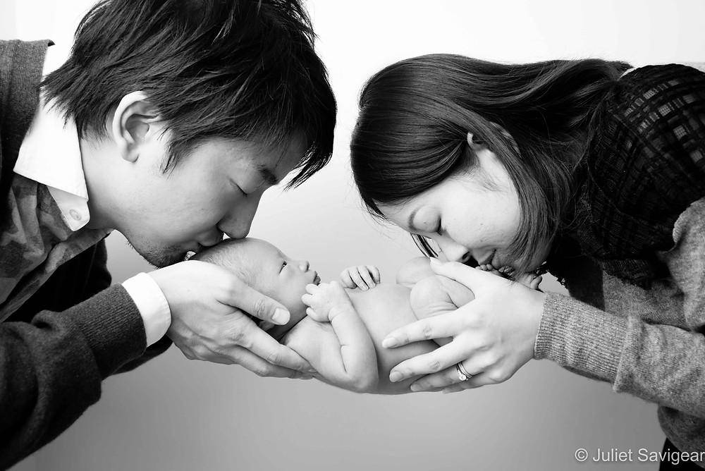Kiss - Newborn Baby Photography, Victoria, London
