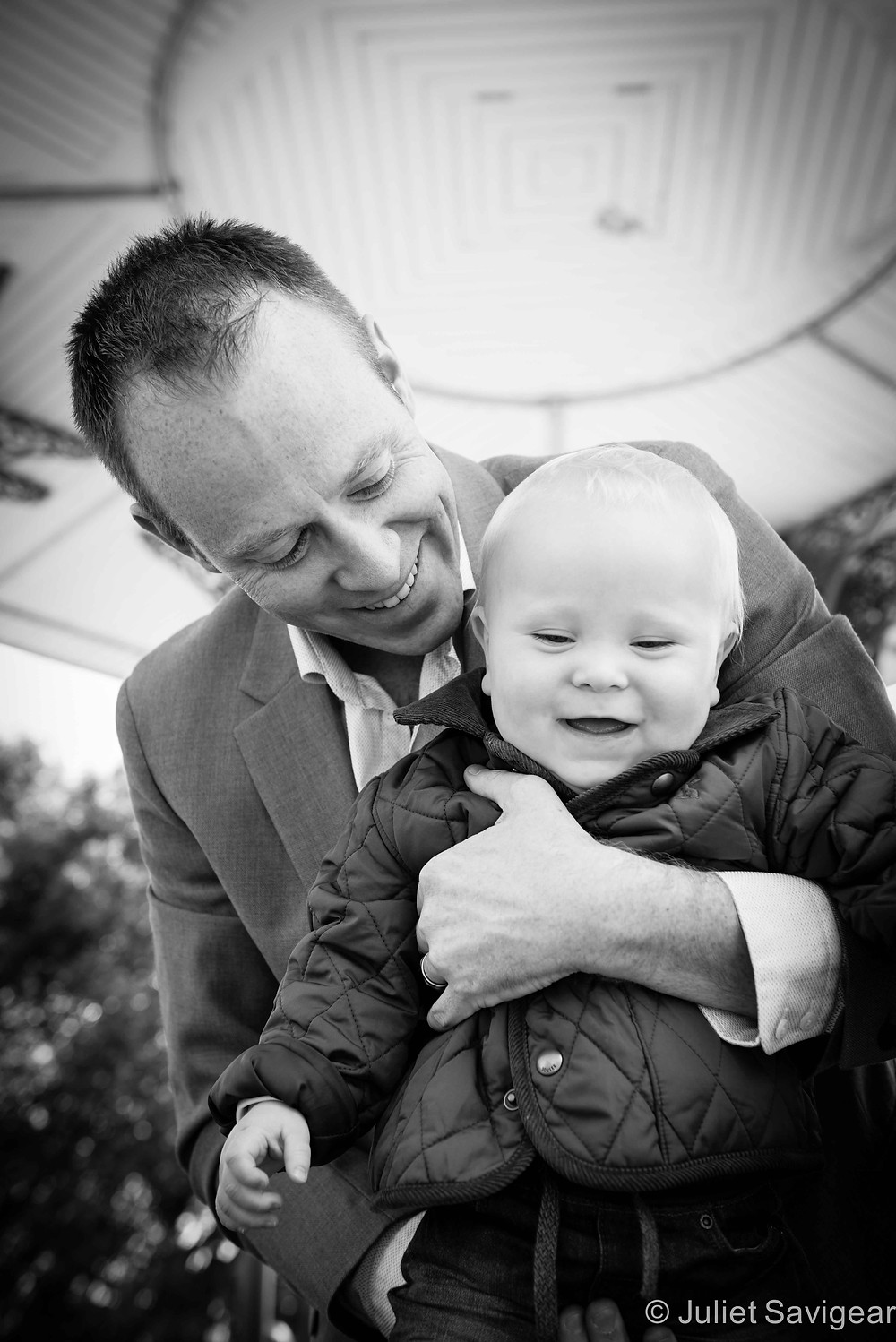 Smiles With Daddy - First Birthday Photo shoot - Clapham Common