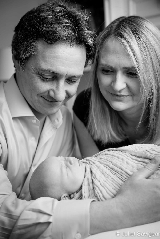 Family Portrait - Newborn Baby Photography, Wimbledon