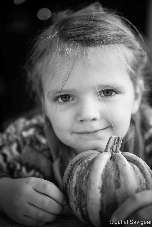 My Pumpkin - Children's Photography, Wandsworth Common