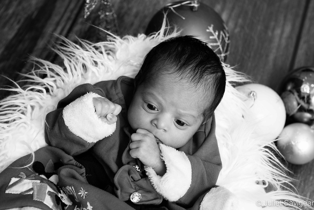 Christmas Baby - Newborn Baby Photography, Colliers Wood