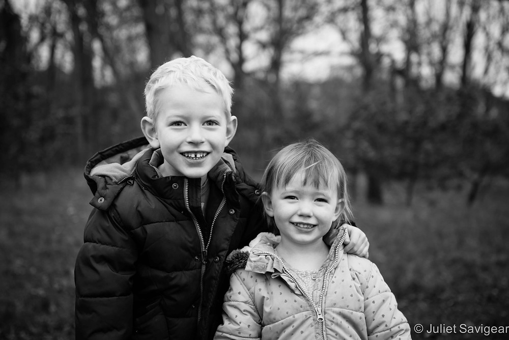 Brother & Sister - Children's Photography, Tooting Common